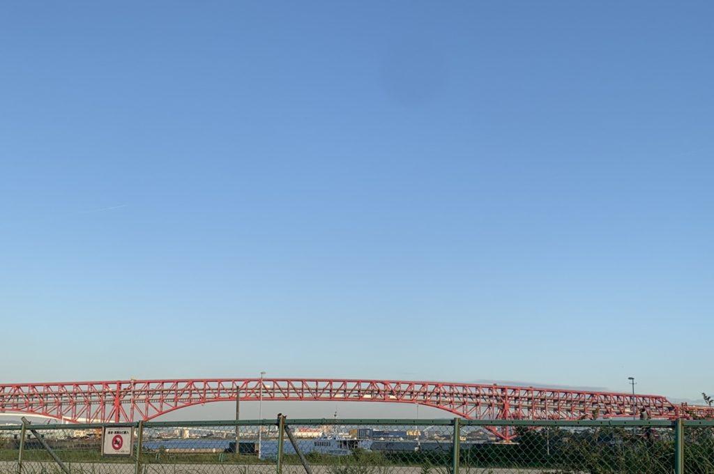 港大橋,大阪市